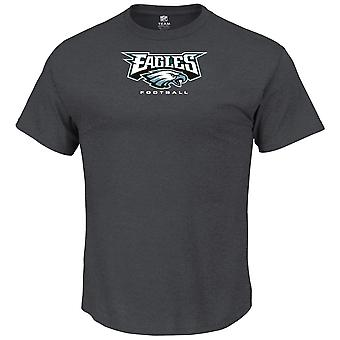 Majestic OUR TEAM shirt - Philadelphia Eagles charcoal