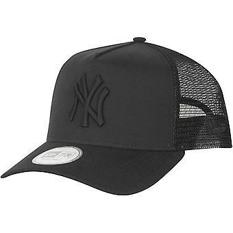 New era Trucker Cap - OXFORD New York Yankees black