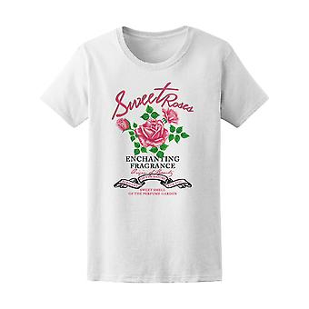 Sweet Roses Enchanting Fragrance Tee Women's -Image by Shutterstock