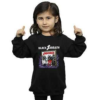 Black Sabbath Girls Sabotage Vintage Sweatshirt