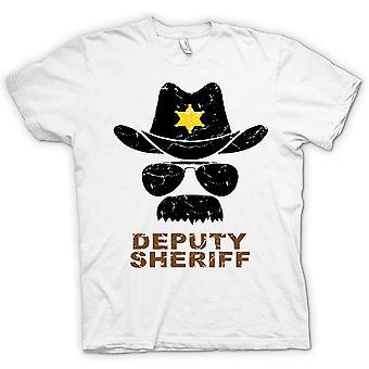 Womens T-shirt - Deputy Sheriff Funny Police - Graphic Design