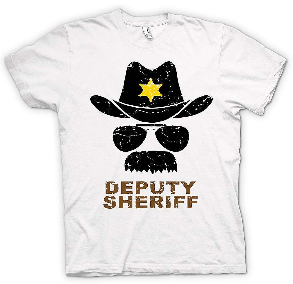 Mens T-shirt - Deputy Sherriff Funny Police - Graphic Design