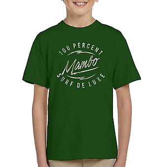 Mambo Bolt Deluxe Green Kid's T-Shirt