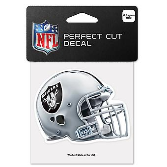 Wincraft Helm Aufkleber 10x10cm - NFL Oakland Raiders