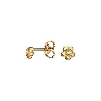 ESPRIT kids earrings JW50258 Silver Gold Flower ESER92736B000