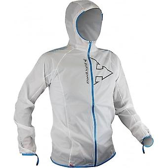 Hyperlight MP+ Mens Waterproof Breathable Jacket White/Electric Blue
