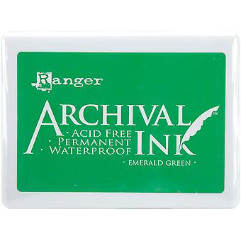 Archival Ink Jumbo Ink Pad #3-Emerald Green
