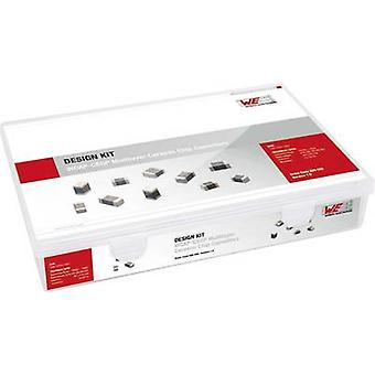 Würth Elektronik Kit 885080 Ceramic capacitor set SMD 6.3 V, 10 V, 16 V, 25 V, 50 V 720 pc(s)