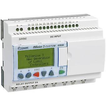 Regulador del PLC Crouzet Millenium 3 CD20 S 88970052 24 Vdc