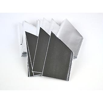 SALE - 30 Silver Foil Paper Hats for Christmas Crackers