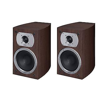 Heco Victa Prime 202, 2 way bass reflex, 110 watts max., espresso 1 of pair new goods