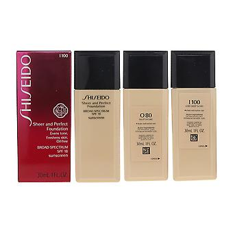 Shiseido Sheer and Perfect Foundation SPF18 1oz/30ml New Inbox Choose Your Shade