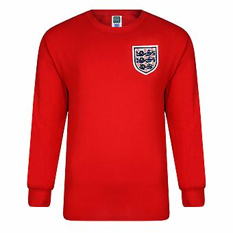 Inglaterra FA oficial Mens 1966 World Cup final retro shirt