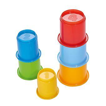SIMBA 104018143 ABC Stacking Cups Set