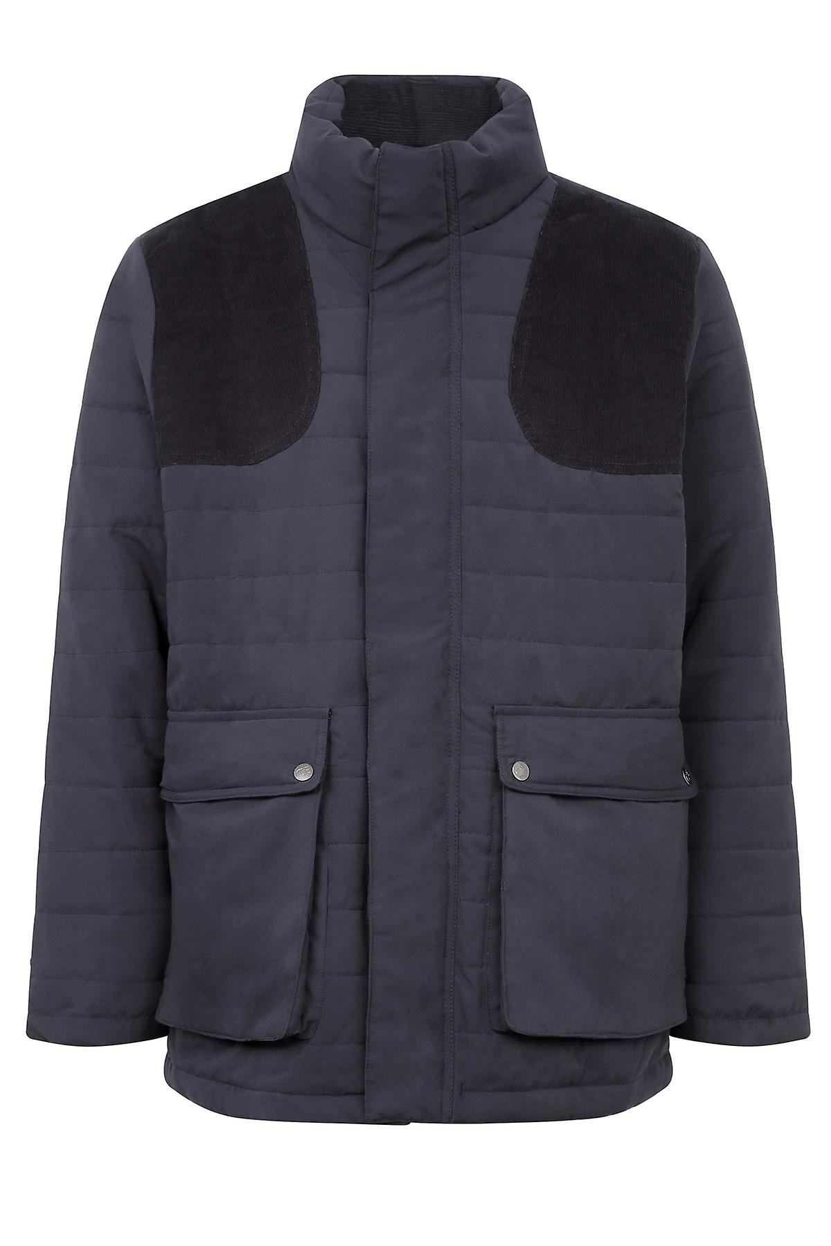 Champion Country Estate Range Stowe Pour des hommes Soft Touch Quilted Coat