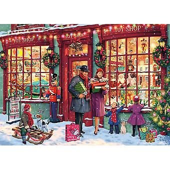 Gibsons Christmas Toy Shop Jigsaw Puzzle (1000 Pieces)