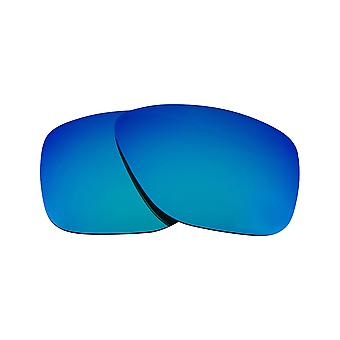 Replacement Lenses Compatible with OAKLEY BREADBOX Polarized Blue Mirror