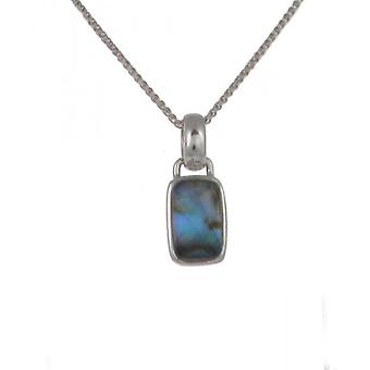 Cavendish French Diddy Abalone Oblong Pendant without Chain
