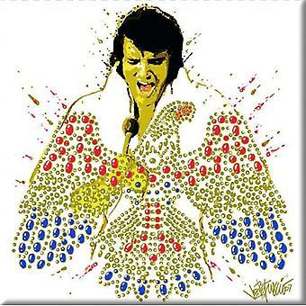 Elvis Presley Fridge Magnet American Eagle new Official 76mm x 76mm