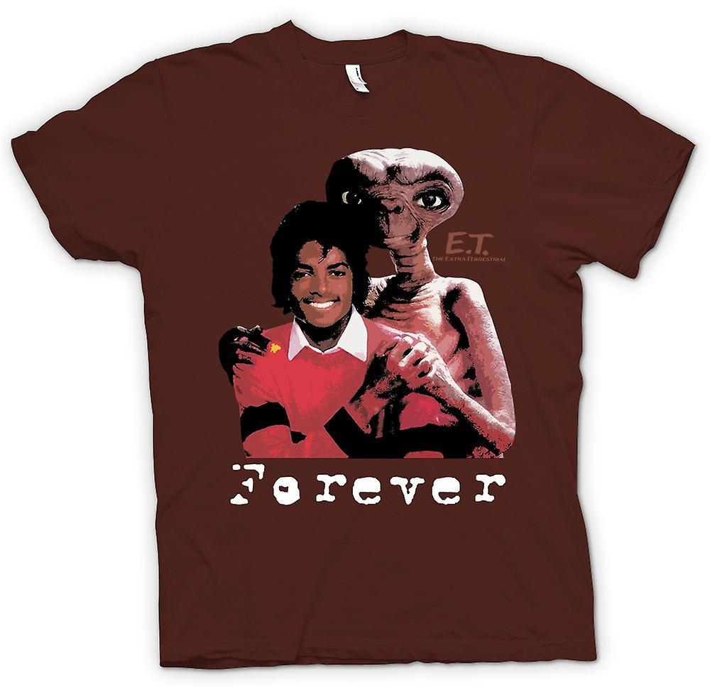 Mens t-shirt-Et Michael Jackson - Alien per sempre