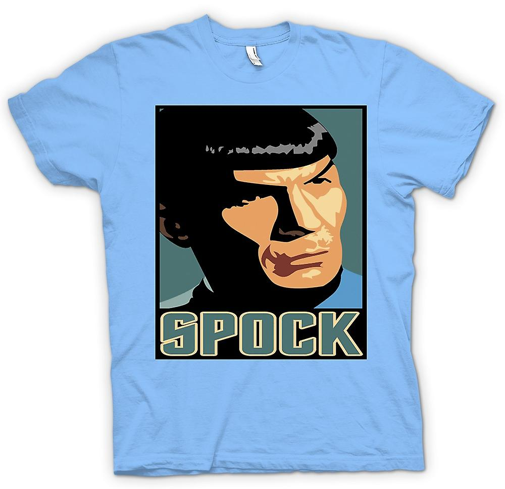 Mens T-shirt-Star Trek - Pop-Art - Spock