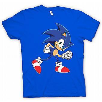 Womens T-shirt - Run Sonic Run - Sonic de Hegehog