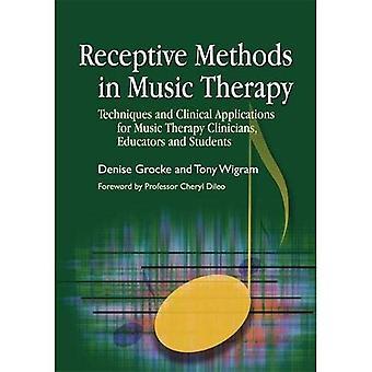 Métodos de receptivos em musicoterapia: técnicas e aplicações clínicas para os clínicos de terapia de música, educadores e estudantes