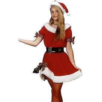 Miss Santa Claus voksen kostume