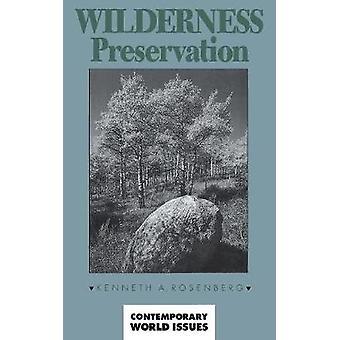 Wildnis Erhaltung A Reference Handbook von Rosenberg & Kenneth
