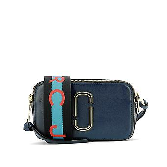 Marc Jacobs Snapshot Multicolor Leather Shoulder Bag
