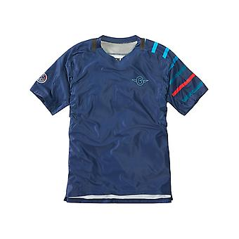 Madison Blue Flux Enduro Short Sleeved Cycling Jersey