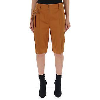 Prada-Beige Baumwoll-Shorts