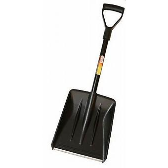Compact Metal Handle - Plastic Head Snow Shovel 82cm - Pack Of 2