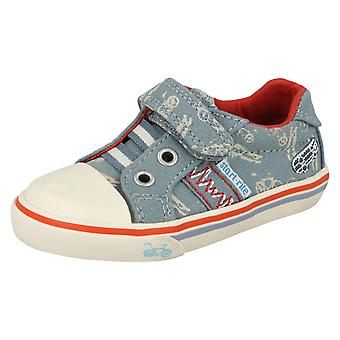 Boys Startrite Canvas Pumps Skate Park