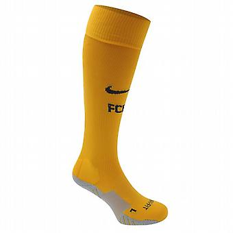 2015-2016 Barcelone Nike chaussettes Away (or)