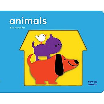TouchWords: Animals [Boardbuch]