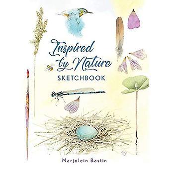Geïnspireerd door de natuur schetsboek