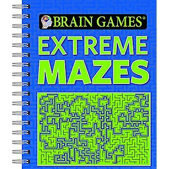 Brain Games Extreme Mazes by Ltd Publications International - 9781680