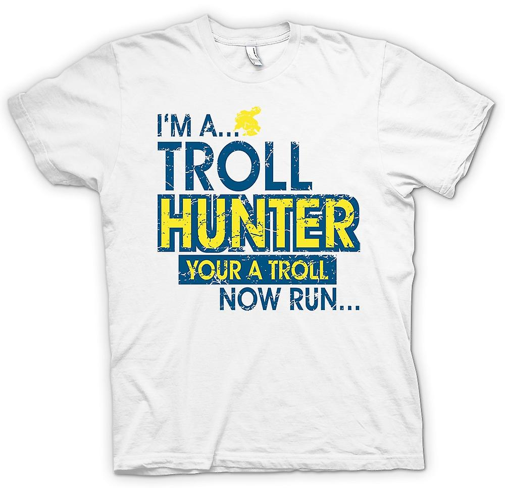 Womens T-shirt - Im A Troll Hunter, You�re A Troll - Now Run