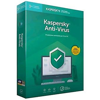 Kaspersky antivirus 2019 license for 3 devices for 1 year version-full (english)