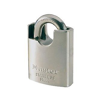 Masterlock Padlock 50 mm breiten Edelstahlkörper und überdachte arc