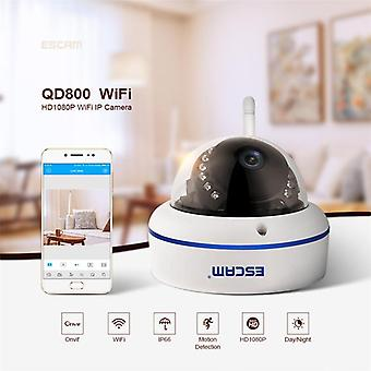 Velocidad de escam qd800wifi onvif hd 1080p p2p ip66 cámara ip wifi de seguridad impermeable