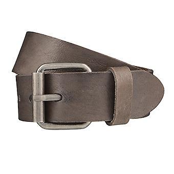 SAKLANI & cintos FRIESE cintos masculino couro cinzento cinto 3990