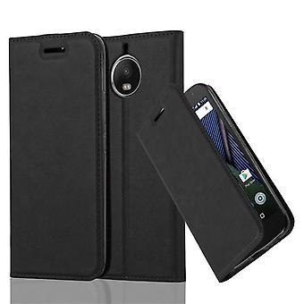 Cadorabo tapa uksessa Motorola MOTO G5S PLUS kotelon suojus-puhelimen kotelo, jossa magneetti sulkeminen, stand-toiminto ja kortti lokero-kotelo kotelo kotelon kotelo tapa uksessa tapa uksessa kirja taitto tyyli