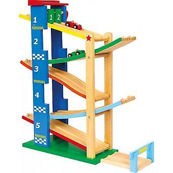 Kleine Fuß Holz Ramp Eramp Racer Set