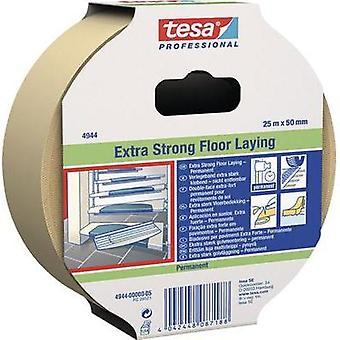 Double sided adhesive tape TESA Tesafix® 4944 White (L x W) 25 m x 50 mm Natural rubber Content: 1 Rolls