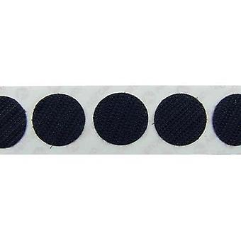 Hook-and-loop stick-on dots stick-on Loop pad (Ø) 19 mm Black VELCRO® brand E28801933011425 1120 pc(s)