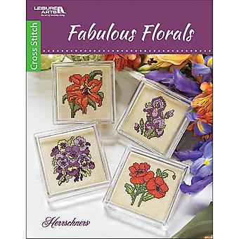 Leisure Arts-Fabulous Florals LA-6740