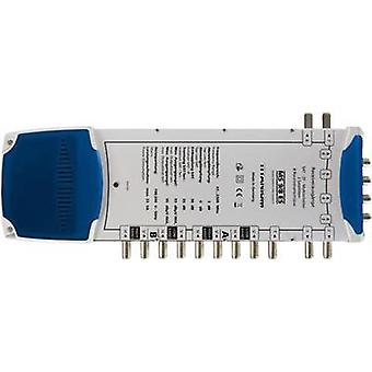 SAT multiswitch Smart Inputs (multiswitch): 9 (8 SAT/1 terrestrial) Number of participants: 8 Quad LNB compatible