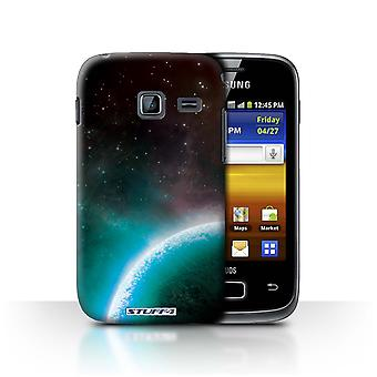 STUFF4 Case/Cover for Samsung Galaxy Y Duos/S6102/Blue Planet/Space/Cosmos